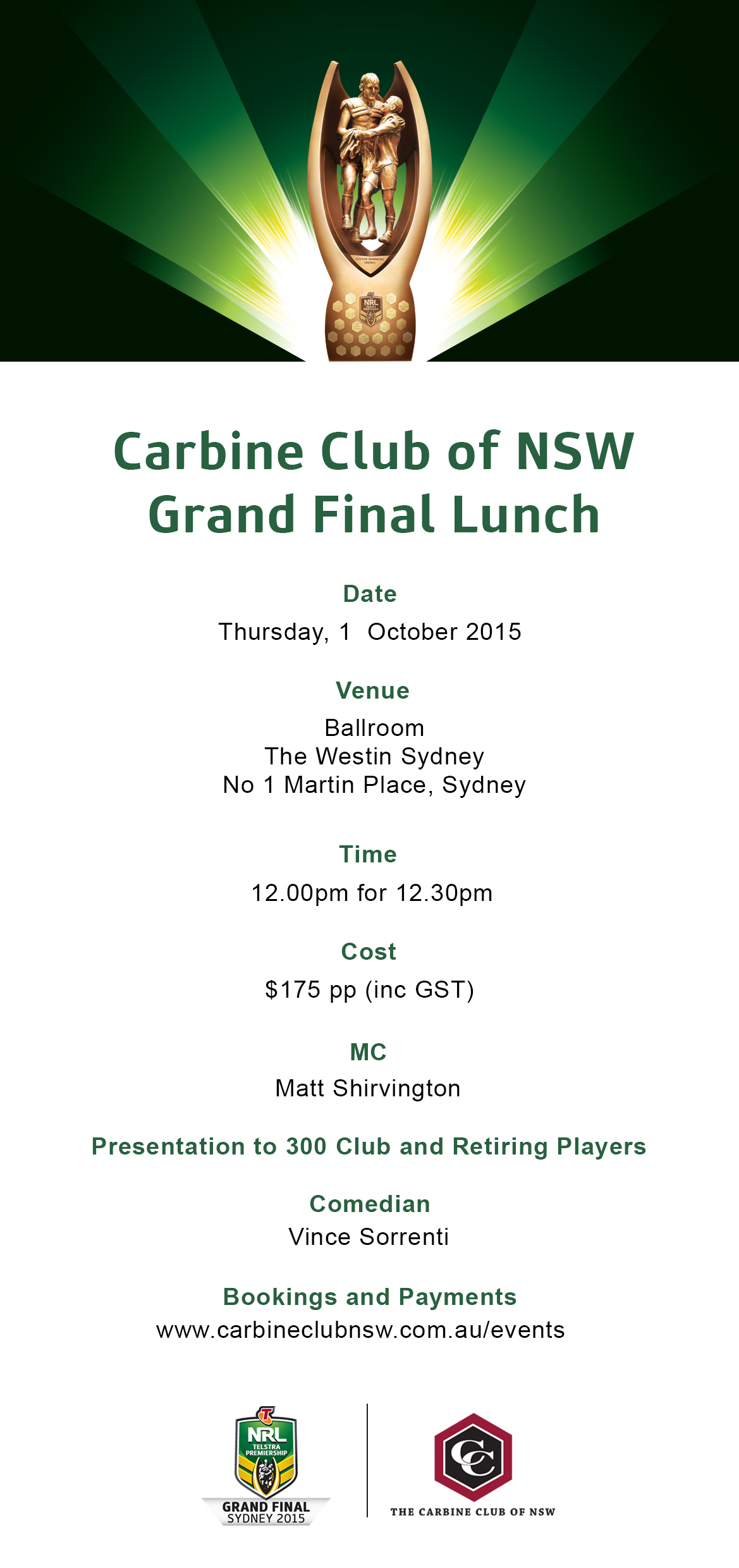 Carbine Club of NSW GF Lunch v2 cc logo w text