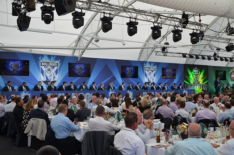 Carbine Club of NSW/NRL Grand Final Luncheon - Dockside Pavilion, Darling Harbour
