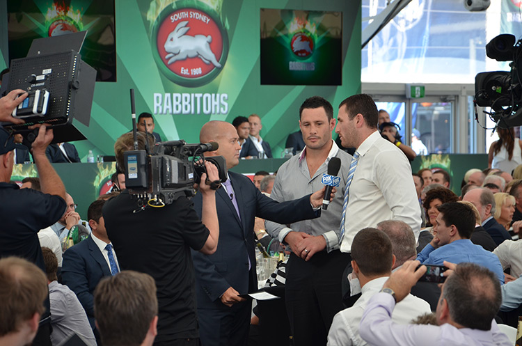 Carbine Club of NSW/NRL Grand Final Luncheon - Retiring Players Ben Smith and Brett White